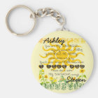 Personalised Sunshine Keychain