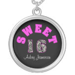 Personalised Sweet 16 Necklace
