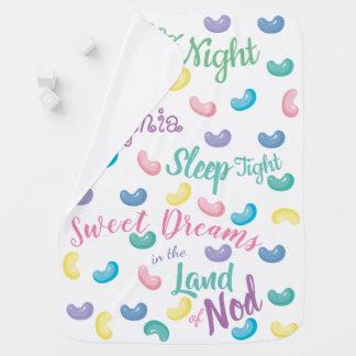 Personalised Sweet Candy Dreams Baby Blanket