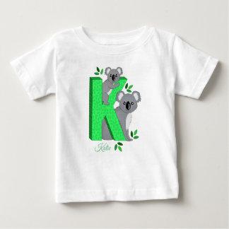Personalised t-shirt - K for Koala