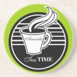 Personalised Tea Cup Drink Coaster