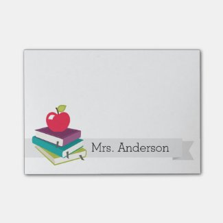 Personalised Teacher Post-It Notes
