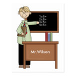 Personalised Teacher Gift Post Cards