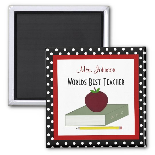 Personalised Teacher Magnet