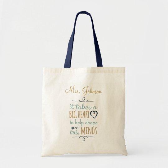 8a8ff2c1a2d Personalised Teacher Tote bag   Zazzle.co.uk