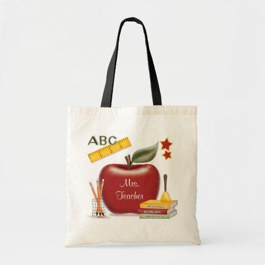 Personalised Teacher's Bag