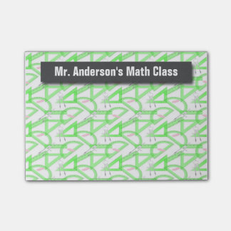 Personalised Teachers Math Tools Post-it® Notes