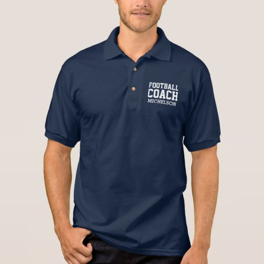 Personalised Team Coach II Polo Shirt