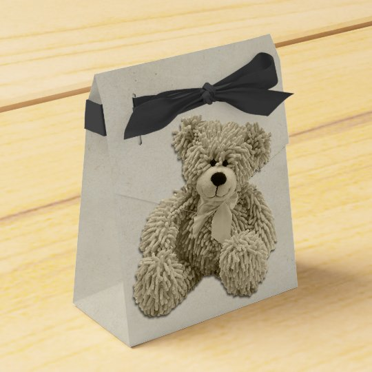Personalised Teddy Bear Thank You Baby Shower Favour