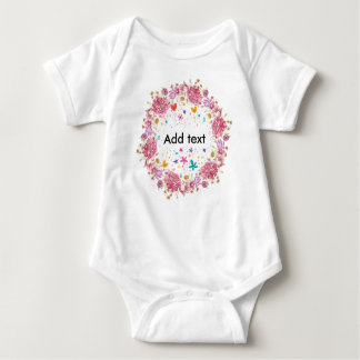 Personalised Text for Kids Baby Bodysuit
