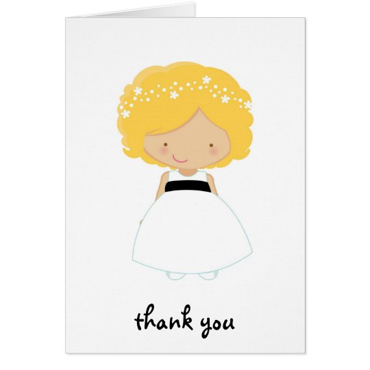 Personalised Thank You For Being Our Flower Girl