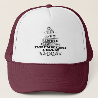 Personalised  Thanksgiving Drinking Team Hat