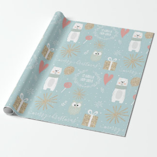 Personalised - To: Your Child, From: Santa Wrapping Paper