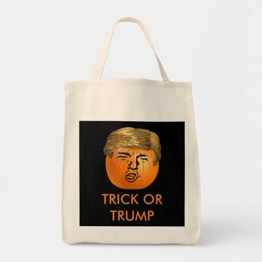 Personalised Trumpkin Trick or Treat Bag
