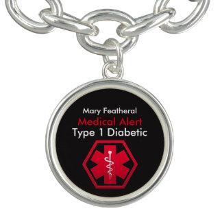 Personalised Type 1 Diabetic Medical Alert