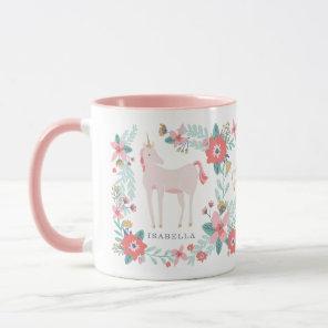 Personalised Unicorn Fields Mug