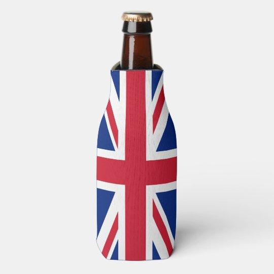 Personalised United Kingdom flag Bottle Cooler