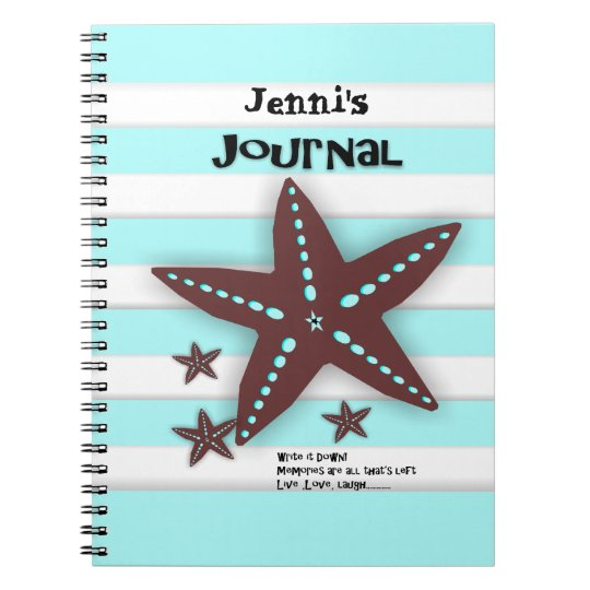 Personalised Vacation Travel Journal