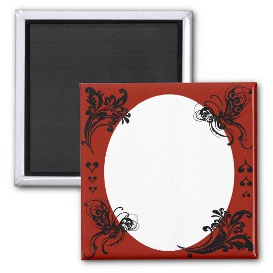 Personalised Valentine's Frame Magnet