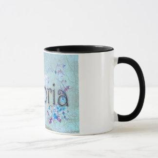 Personalised `Victoria' mug. Mug