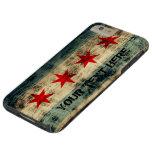 Personalised Vintage Grunge Chicago Flag