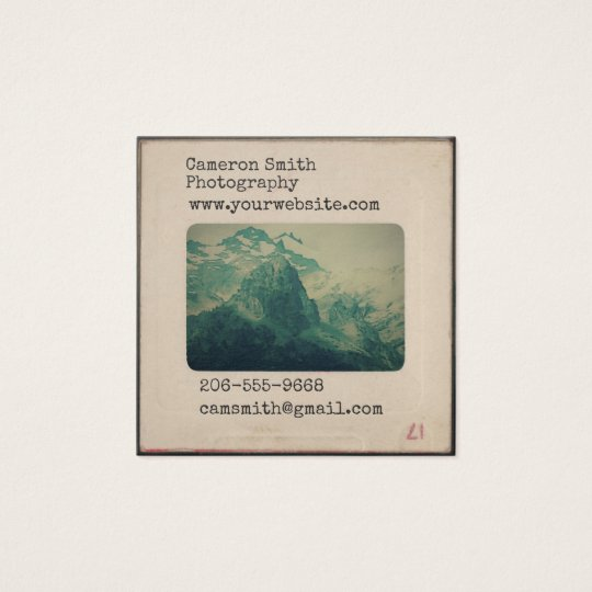 Vintage bicycle business cards business card printing zazzle uk personalised vintage slide business card reheart Choice Image