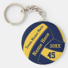Personalised Volleyball Keychains BULk or One
