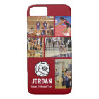 Personalised Volleyball Photo College Name Team # iPhone 8/7 Case
