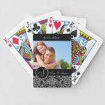 Personalised Wedding Bicycle Poker Cards