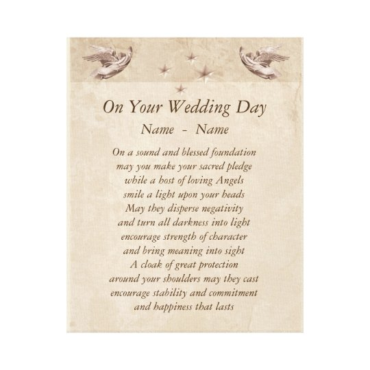 Wedding Day Poems For Bride