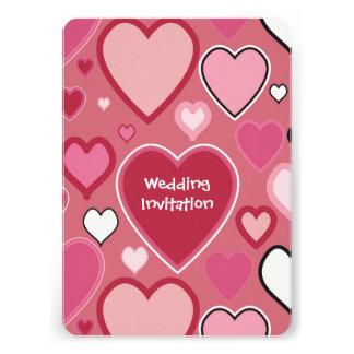 Personalised Wedding Invitation with RSVP