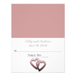 Personalised Wedding Place Card