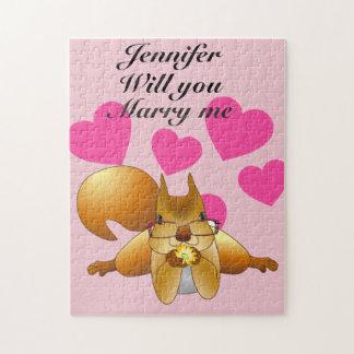 Personalised Wedding Proposal Puzzle