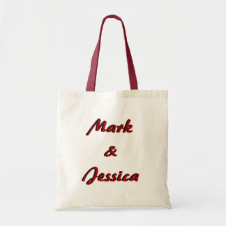 Personalised Wedding Welcome Tote Bag