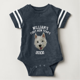Personalised West Highland Terrier First New Year! Shirts