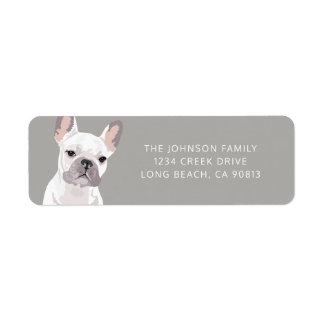 Personalised White French Bulldog
