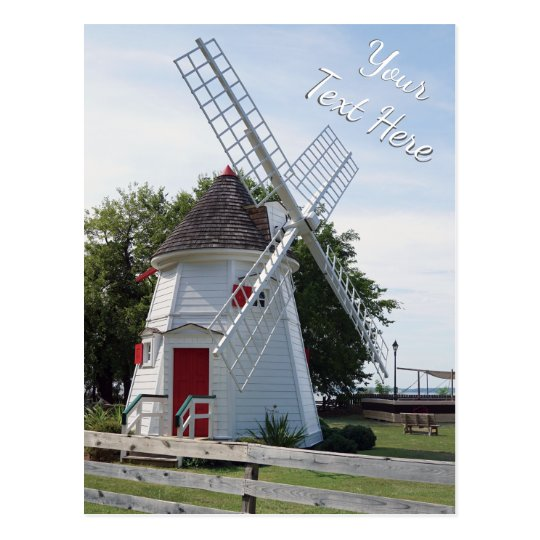 Personalised Windmill Post Cards Bulk or Buy 1