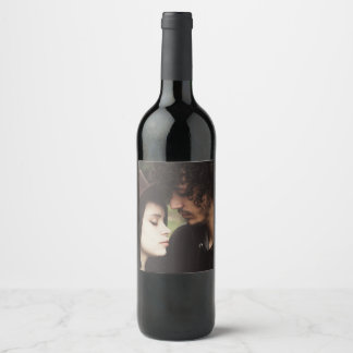 Personalised Wine Label with Photo