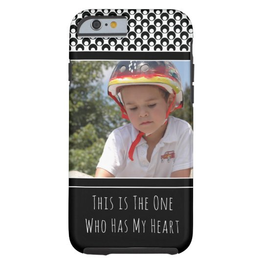 Personalised with Photo of Your Adorable Child Tough
