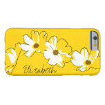 Personalised Yellow Daisy Chain Barely There iPhone 6 Case