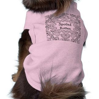 Personalised Zendoodle Doggie Ribbed Tank Top Sleeveless Dog Shirt