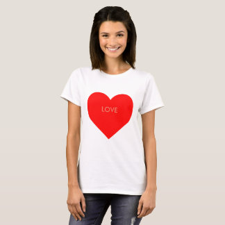 Personalisierbares heart T-Shirt