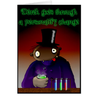 Personality Change Card