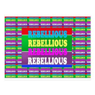PERSONALITY REBEL REBELLION Express: lowprice Postcards