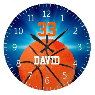 Personalizable Basketball | Player No Wall Clock