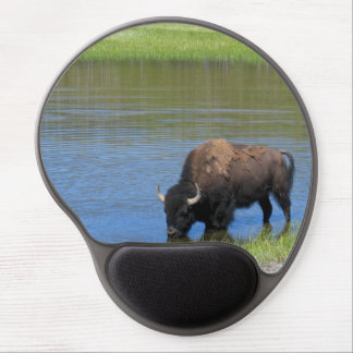 Personalizable Buffalo Yellowstone Souvenir Gel Mouse Pads