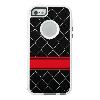 Personalizable Chain Link Fence Pattern OtterBox iPhone 5/5s/SE Case