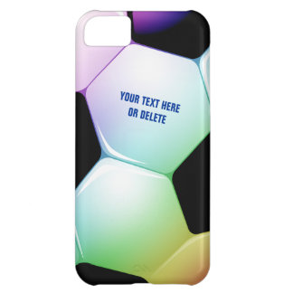 Personalizable Colorful Soccer Football iPhone 5 iPhone 5C Case