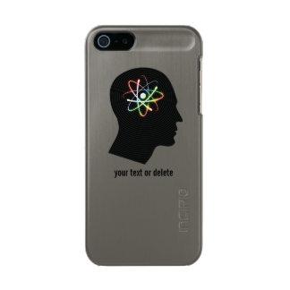 Personalizable Cool Atom Mind Incipio Feather® Shine iPhone 5 Case