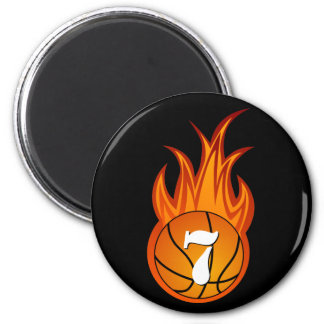 Personalizable Cool Basketball magnet